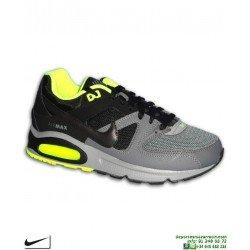 Zapatilla Nike AIR MAX COMMAND Gris-Negro Camara de Aire