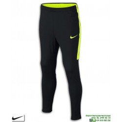 Pantalón Chandal Ajustado NIKE Kids Dry Academy Football Negro-Amarillo 839365-018
