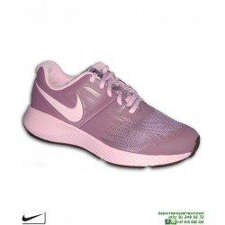 Zapatilla Deporte Chicas Nike STAR RUNNER Violeta 907257-500 deportiva mujer junior running