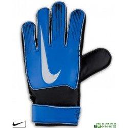 Guante Portero NIKE GK MATCH Junior azul-plata GS0368-420 futbol