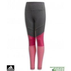 Malla Pantalon Chica ADIDAS YG TR BLD TIGHT Gris-Rosa DV2750