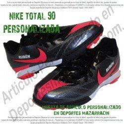 PERSONALIZAR botas de futbol NIKE TOTAL 90 (Imagenes de muestra)