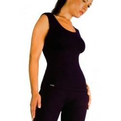 camiseta gimnasio mujer lycra supplex tirantes de deporte