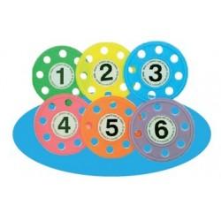 discos de BUCEO softee natacion piscina (juego 6 unidades)