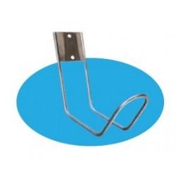 soporte salvavidas acero para piscina softee