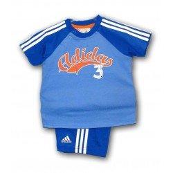 conjunto Adidas baby niño 2012 3 meses a 3 años X24778 SUMMER SET