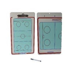 Carpeta tactica hockey hielo reversible ABS