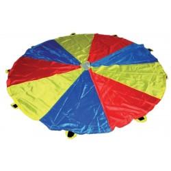 paracaidas escolar softee (diversas medidas 3.5m, 6m y7m)