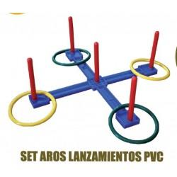 aros para lanzamiento PVC softee
