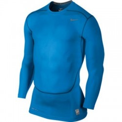 camiseta interior Nike core compression LS top Futbol ajustada