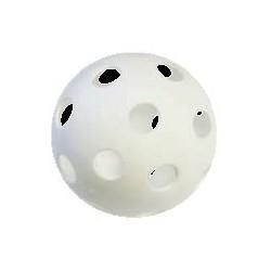 Pelota hockey - floorball agujeros 140mm softee