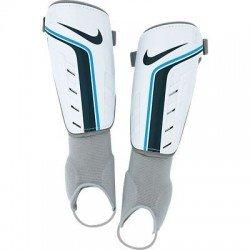 Espinillera Nike TIEMPO SHIELD II Adulto blanco