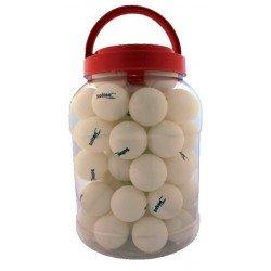 Caja de 60 pelotas ping pong una estrella