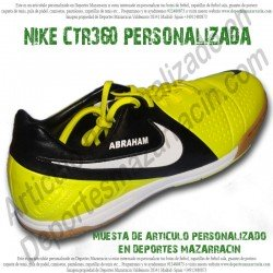 PERSONALIZAR botas de futbol NIKE CTR360 (Imagenes de muestra)