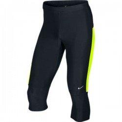 Nike Malla running pirata lycra negro-amarillo