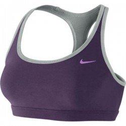 Nike TOP FITNESS BRA morado