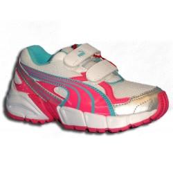 Puma AXIS 2 VELCRO niña Zapatilla deporte rosa