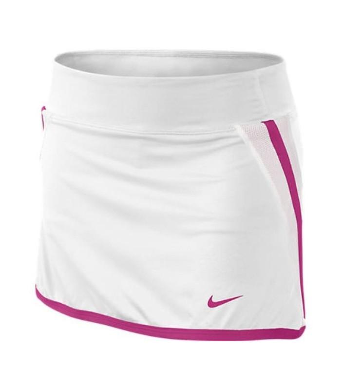 Padel Mujer 2013 Chica Nike Grabar Blanco Tenis Falda Personalizar wHqg41n