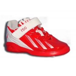 "Adidas F50-F5 MESSI roja 2013 zapatilla futbol calle INFANTIL ""personalizar"""