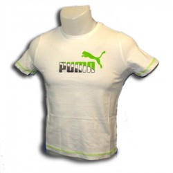 Puma camiseta CHICO TD GRAPHIC TEE BLANCO