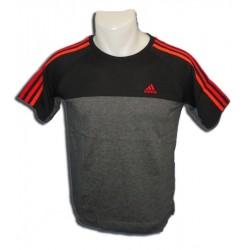 Camiseta Adidas ESS 3S CREW TEE NEGRO manga corta Junior