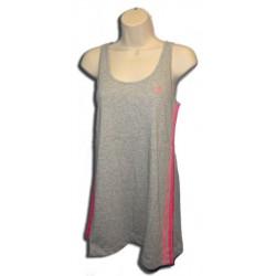 camiseta Adidas mujer tirantes gris