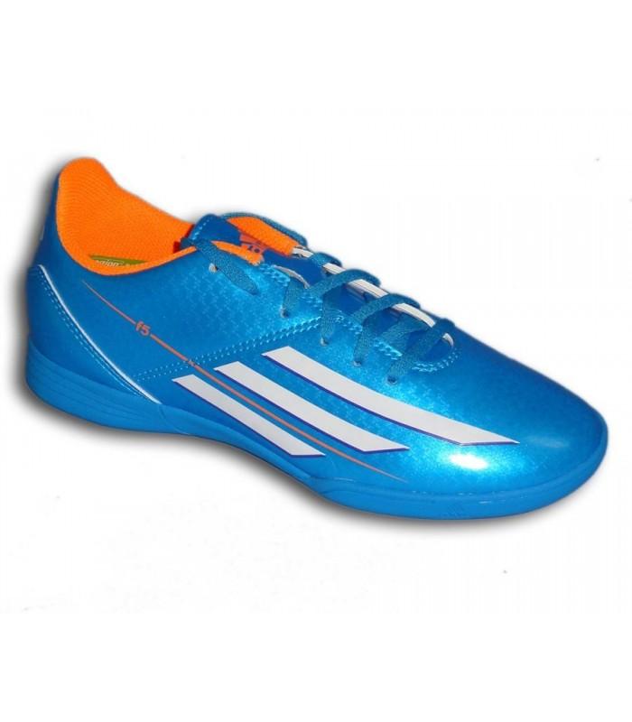F50 Niño Sala Azul F5 Zapatilla Messi Bale Futbol Adidas 2014 b7gvYf6y