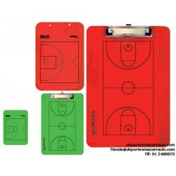 Carpeta tactica BALONCESTO VELADA REVESIBLE softee