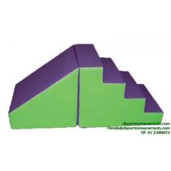 SET FIGURAS 60 escalera + rampa softee
