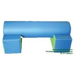 SET FIGURAS 30 puente cilindro espuma softee