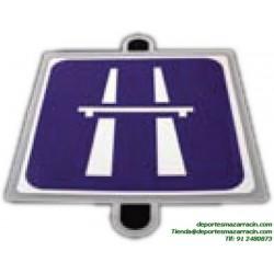 señal de trafico INDICACION AUTOPISTA educación vial escuela