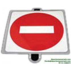 señal de trafico PROHIBICIÓN DIRECCION educación vial escuela