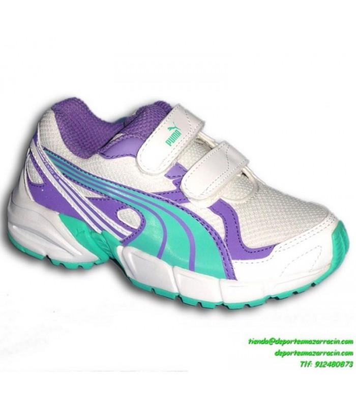 zapatillas running puma niña