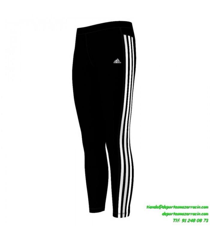 Malla ADIDAS MF 3S Longtight CLIMALITE X20371 Mujer Negro fitness