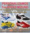 PERSONALIZAR BOTAS DE FUTBOL MIZUNO (Incluida la Recogida)