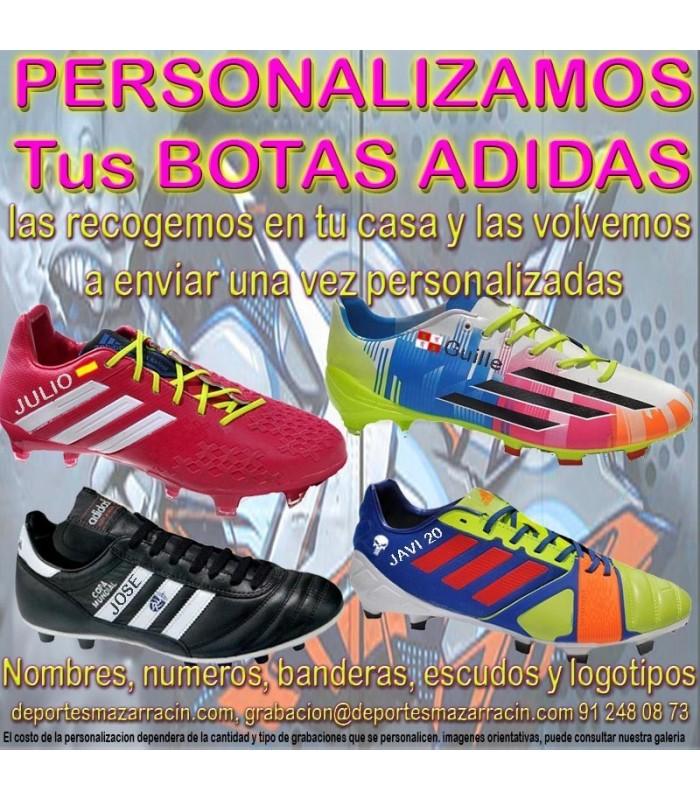 camisa avión Maestro  PERSONALIZAR BOTAS DE FUTBOL ADIDAS grabar botas futbol estampar nombre  numero bandera escudo