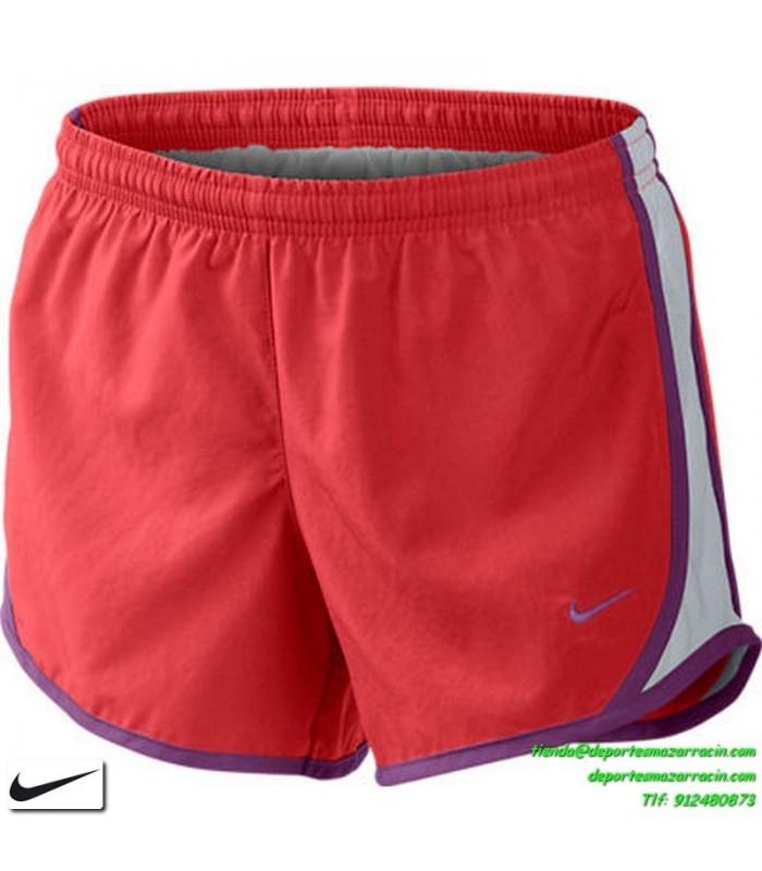 gran selección de 1cc06 b7285 NIKE Pantalon corto mujer ROJO SHORT DRIFIT deporte correr gimnasio fitness  chica running