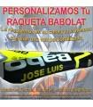 PERSONALIZAR RAQUETA de TENIS marca BABOLAT (Incluida la Recogida)