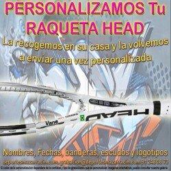 PERSONALIZAR RAQUETA de TENIS marca HEAD (Incluida la Recogida)