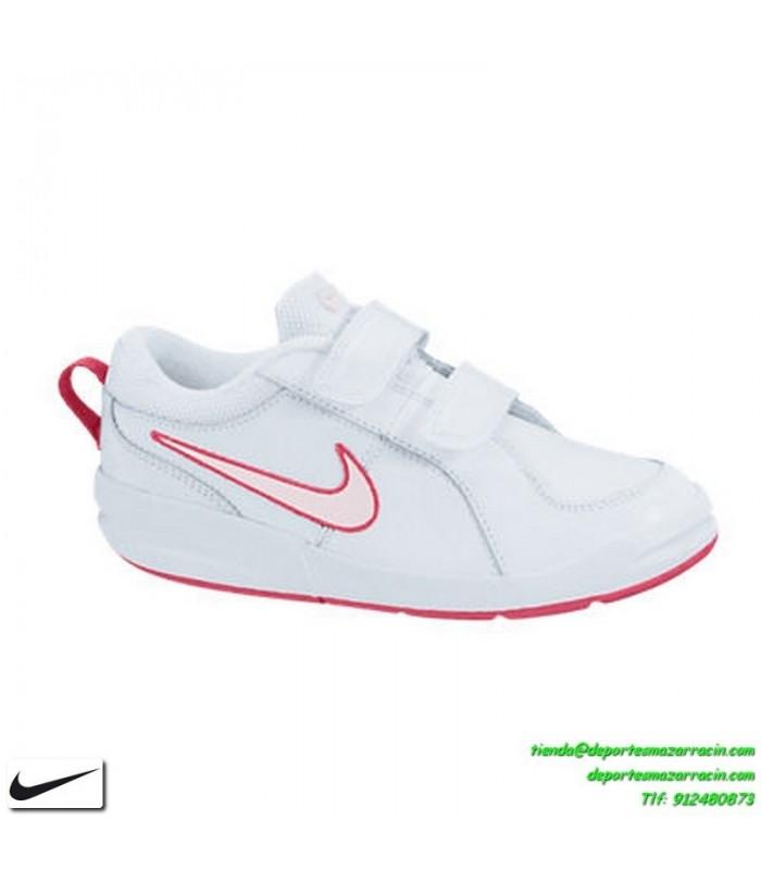 zapatillas niña blanca nike