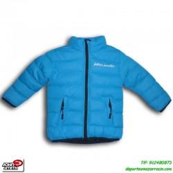 Abrigo PARA NIÑOS John Smith color AZUL chaqueta parka anorak infantil junior capucha acolchado niña junior infantil chica
