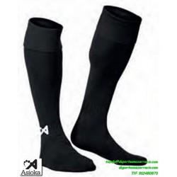 ASIOKA MEDIAS Futbol color NEGRO barato equipacion deporte calcetin talla 200/10