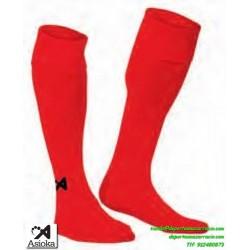 ASIOKA MEDIAS Futbol color ROJO barato equipacion deporte calcetin talla 200/10