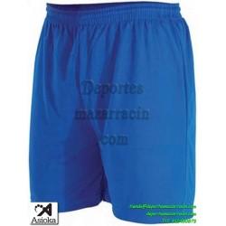 Asioka PANTALON CORTO 90/08 Futbol Deporte color AZUL equipacion short deporte talla