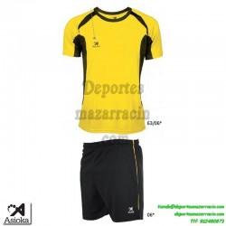 Asioka CONJUNTO CAMISETA+PANTALON 69-12 Futbol - Deporte AMARILLO
