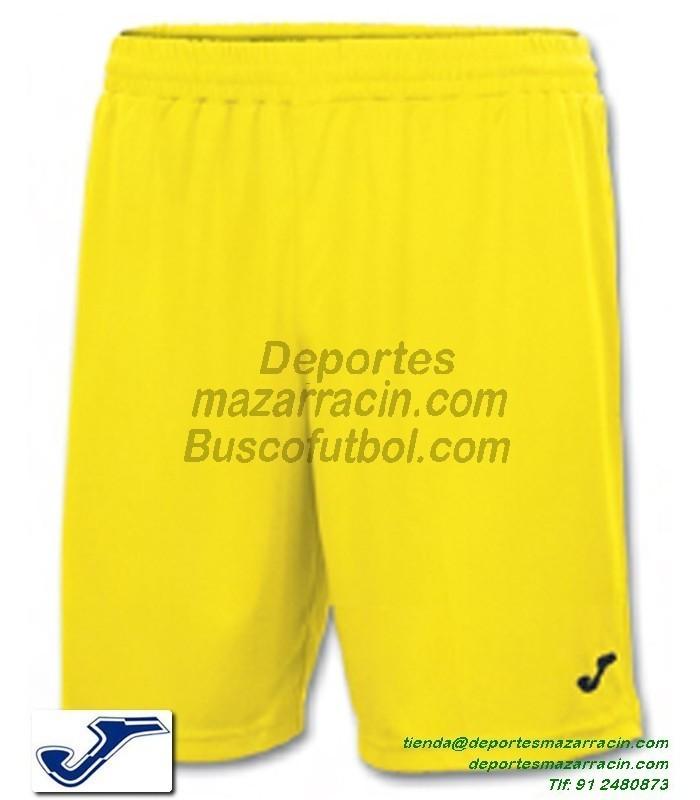 b2ef669612 JOMA PANTALON CORTO NOBEL COMBI Futbol Deporte color AMARILLO equipacion  short SPORT talla hombre ni