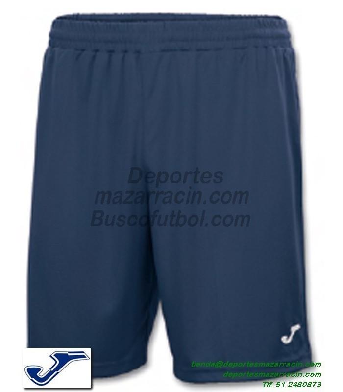 Joma Pantalon Corto Nobel Combi Futbol Deporte Color Azul Marino Equipacion Short Sport Talla Hombre Nino