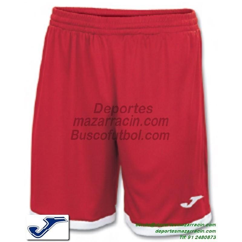 5e4dfce22 JOMA PANTALON CORTO TOLEDO Futbol color ROJO equipacion short SPORT talla  hombre niño 100006.600
