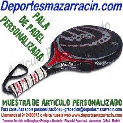 PERSONALIZAR Pala de PADEL poner grabar estamapar nombre bandera logotipo escudo