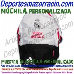 PERSONALIZAR BOLSAS DE DEPORTE MOCHILAS poner grabar estamapar nombre logotipo bandera escudo